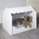 Cama casita para mascotas
